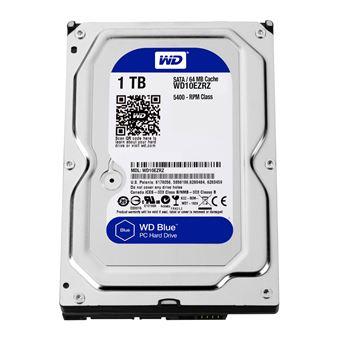 "Western Digital wd10ezrz Internal Hard Drive (8,9 cm (3,5 ""), 5400 TR/Min, 64 Mo, SATA)"