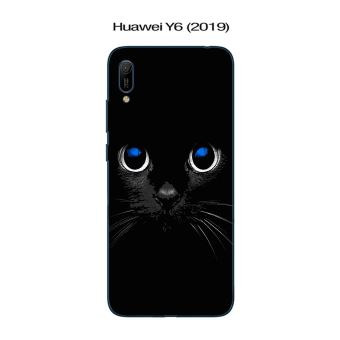 Coque Huawei Y6 (2019) design Chat noir