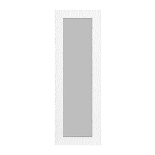 ROME Miroir MDF 55x157 cm Blanc brillant
