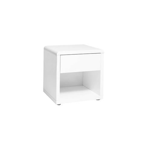 Design Laquée Elio Blanche Table PrixFnac Achatamp; De Chevet ULjzGqSpMV
