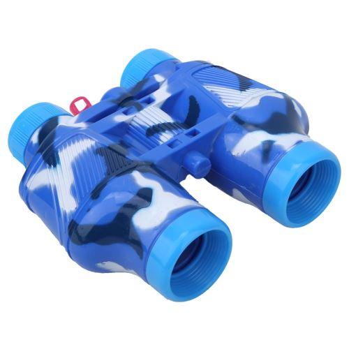 Jumelles pour enfants avec Boussole Bleu
