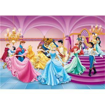 Princesses disney papier peint photo poster ariel cendrillon belle et princesse une soir e - Jeux de ariel et son prince ...