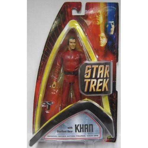 Star Trek Artasylum Khan Kahn avec figurine de collection Diamond Comics de Starfleet Gear