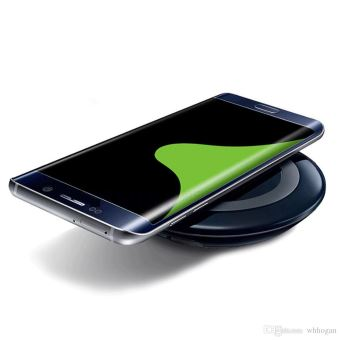 Phonillico Chargeur Induction Noir Compatible Apple iPhone