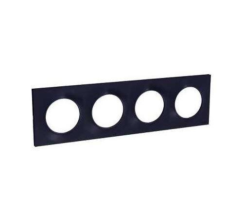 Plaque Odace Styl - Anthracite - Quadruple