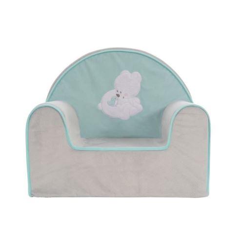 tineo fauteuil pilou - en soft boa - dessous pvc - déhoussable