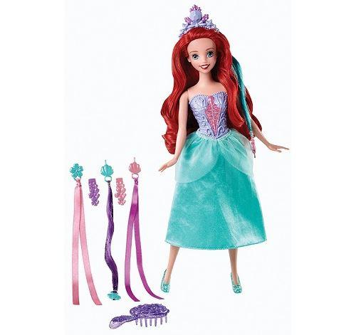 Poupée ariel coiffure de princesse - disney princess