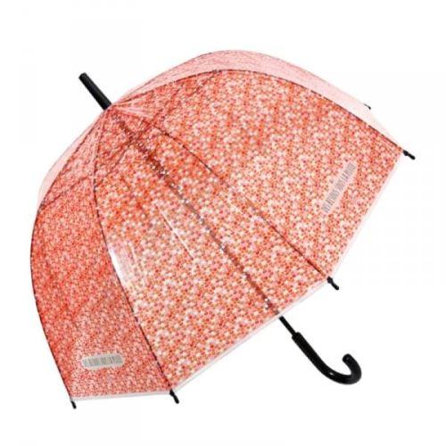 Parapluie cloche lipstick rouge - derrière la porte