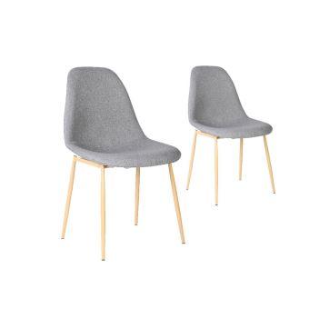 Chaise tissu couleur latest chaise capitonne twelve for Recouvrir des chaises en tissu