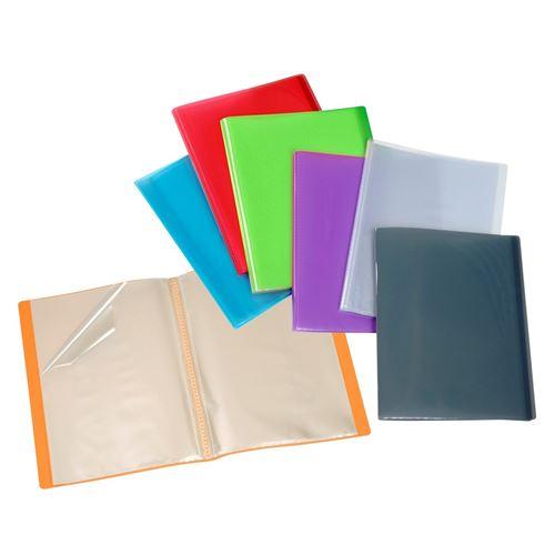 Lot de 15 Protège-documents A4 - Reliure 60 Vues - Coloris assortis Viquel Multicolore
