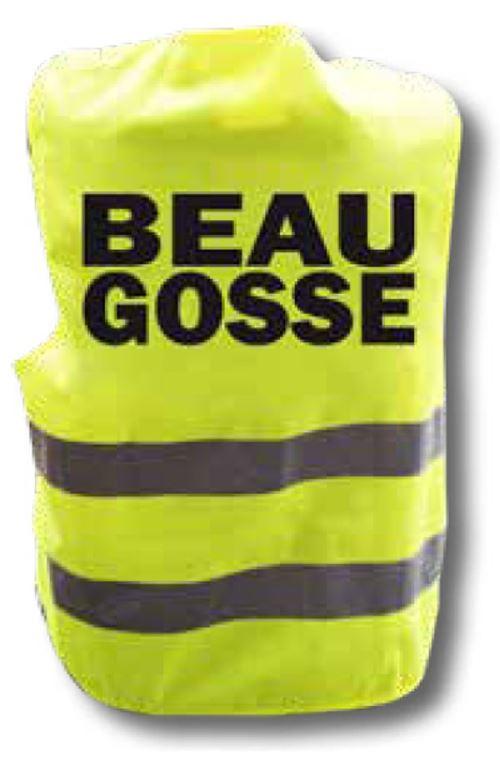 Gilet jaune humour - Beau Gosse