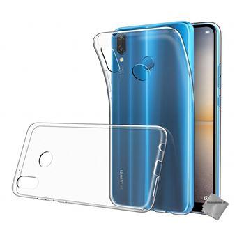 coque huawei p20 lite bleu silicone