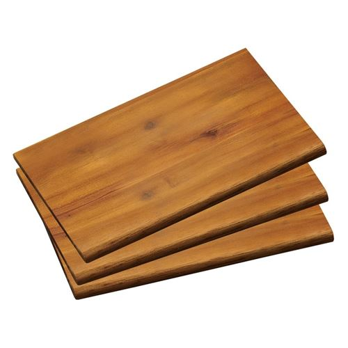 Planches à découper 23 x 15 cm - Lot de 3 - Bois
