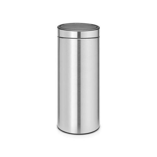 Brabantia poubelle touch bin - 30l - acier 115462