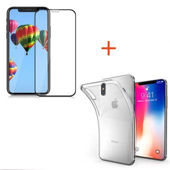 iphone xs max coque transparente integrale