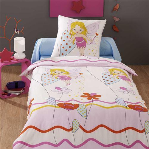 Parure de lit enfant Fée Lagon 140x200 cm