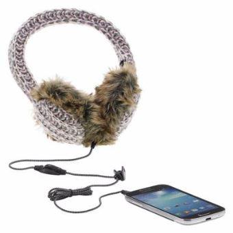 haute qualité ventes spéciales design élégant iNexStart Casque Audio Stéréo Fourrure et Cache-Oreilles pour Smartphone  Tablette PC Ordinateur