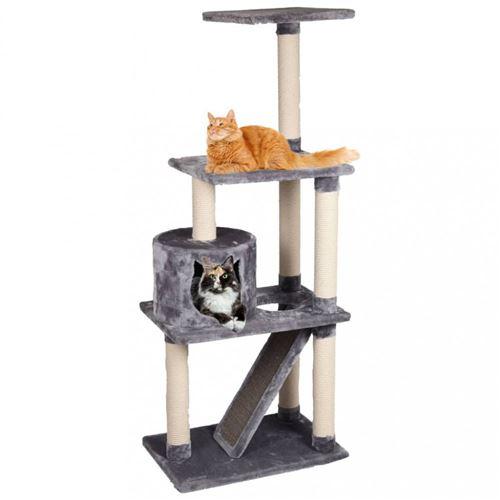 Arbre a chat FORZA gris. 60 x 40 x 151.5 cm de hauteur.