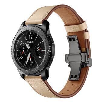 bracelet cuir samsung gear s3