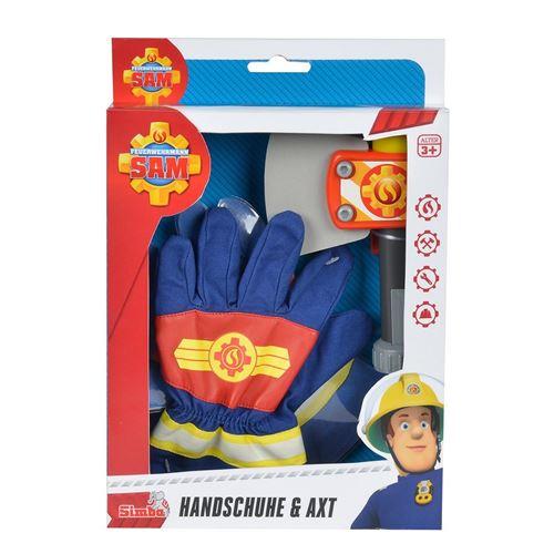 Simba Toys 109252105 Gants et hache pompier Sam