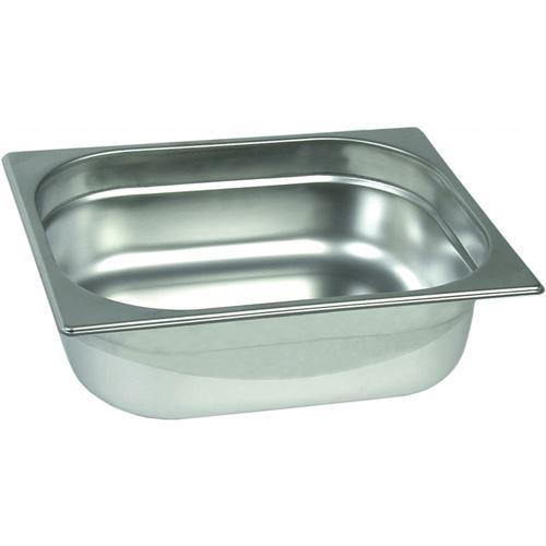 Bac Gastro Inox GN 1/2 Eco - H 40 à 200 mm - Stalgast - 200 mm 20 cl