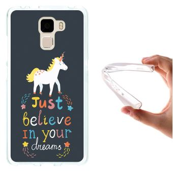 coque huawei honor 7 licorne