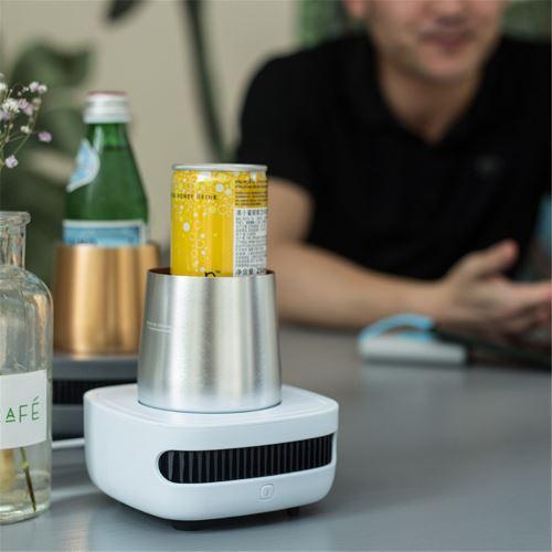 Cupcooler boissons boissons Cooler Extreme refroidissement rapide Réfrigérateur USB Portable_Kiliaadk1086