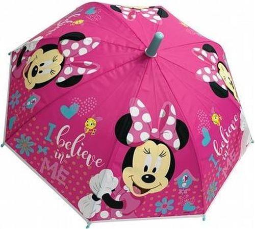Disney parapluie pour enfants Minnie Mouse filles 38 cm polyester rose