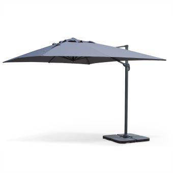 parasol rectangulaire weldom