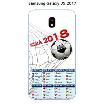 Onozo - Coque Samsung Galaxy J5 - 2017 design Foot - 1 - Coupe du monde Russie 2018