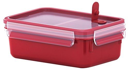 Tefal k31023 lunch container rouge, transparent gamelle