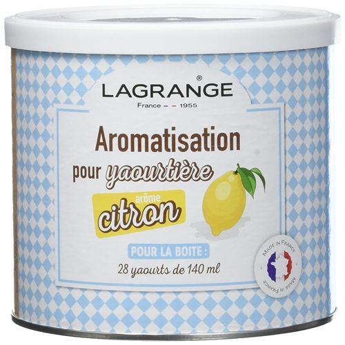 Aromatisation Citron pour Yaourts Lagrange 500 g