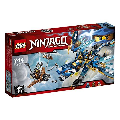 LEGO 2016 New Ninjago 70602 Jays Elemental Dragon - Kit de construction 350pcs