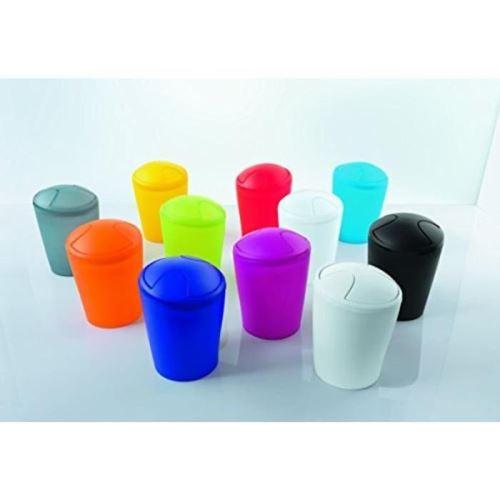 Move poubelle salle de bain - 21x15x15 cm - gris b004kqytjs