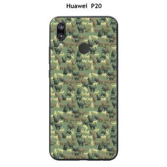 coque huawei p20 cactus