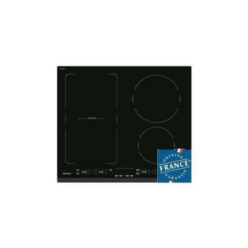 Sauter horiZonetech SPI4664B - Table de cuisson à induction - 4 plaques de cuisson - Niche - largeur : 56 cm - profondeur : 49 cm - avec avant biseauté - noir