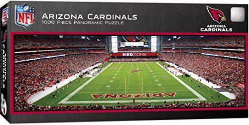 MasterPieces NFL Arizona Cardinals 1000 Piece Stadium Panoramic Jigsaw Puzzle