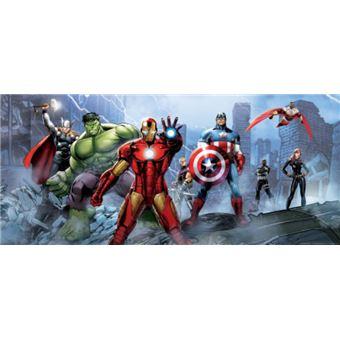 Avengers Papier Peint Photoposter Iron Man Captain America Hulk