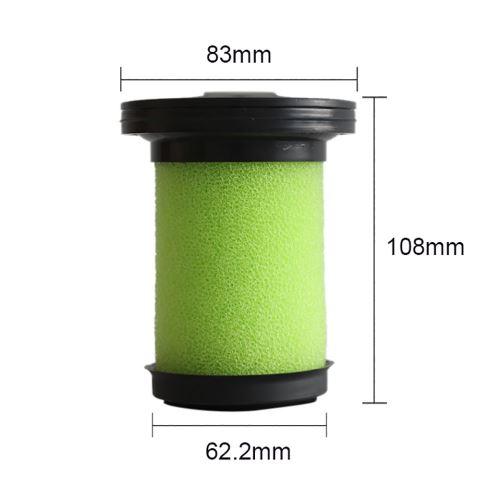 Lavable Aspirateur vert Filtre pour aspirateur à main Gtech Multi Plus Clean