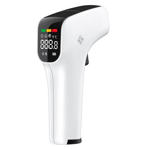 Thermomètre frontal corporel infrarouge numérique 02 - Blanc