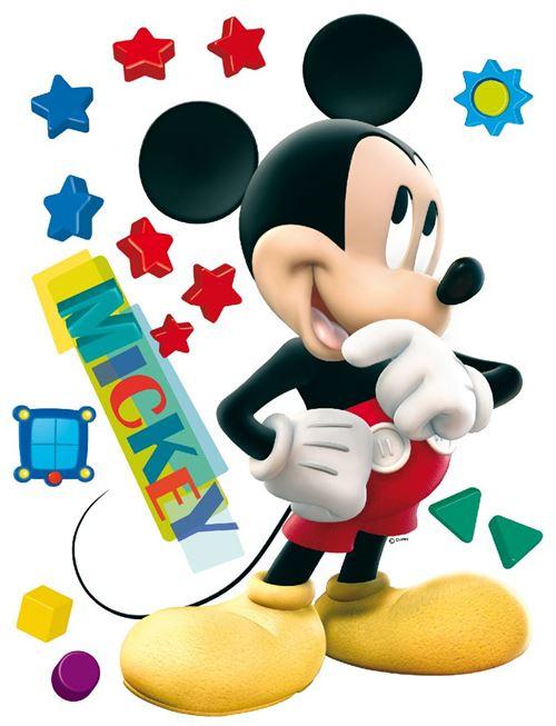 Stickers géant Mickey Disney