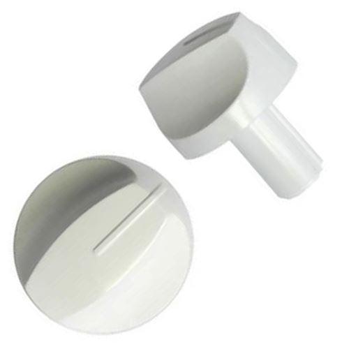 Bouton de gaz blanc pour cuisiniere electrolux - sos7145205