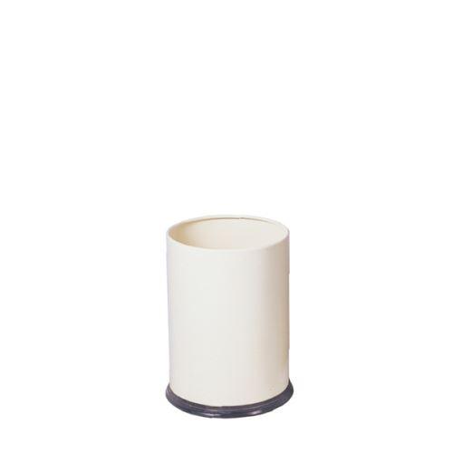 CORBEILLE À PAPIER - MEDIAL - Blanc - 5 Kg - acier et plastique