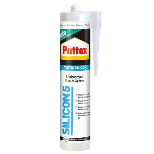 Pattex silicone acétique transparent 280 ml