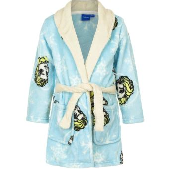 Peignoir La Reine Des Neiges 6 Ans Robe De Chambre Enfant Bleu