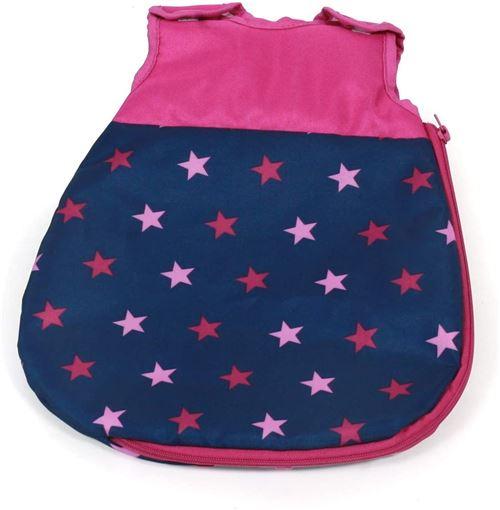 Bayer Chic 2000 794 72 Bola Gigoteuse pour poupées bébé Stars Navy Rose