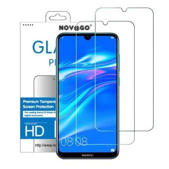 Huawei Y7 2019 Pack de 2 films en verre trempé protection écran