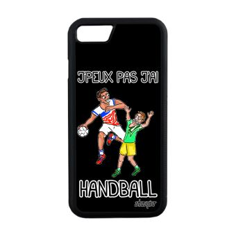 Coque iPhone 7 silicone jpeux pas j ai handball hand 128 Go unique houe Apple