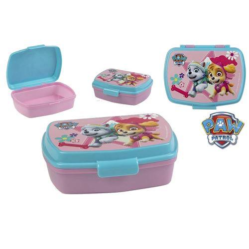 Boite à goûter La Pat Patrouille Disney enfant rose