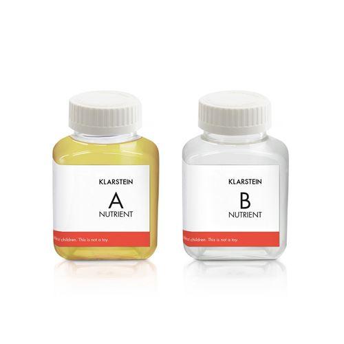Klarstein GrowIt Nutri Kit 60 Solution nutritive pour Jardin culture hydroponique - 2 x 60 ml